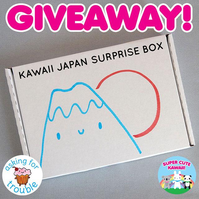 surprise box giveaway