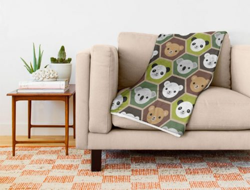 bears blanket
