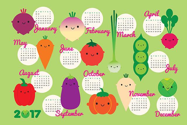 5aday-calendar-2017
