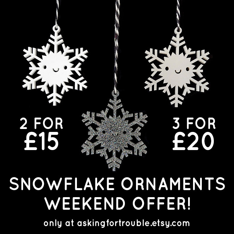 snowflakes offer