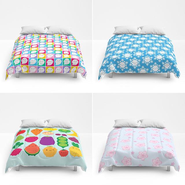 society6 comforters