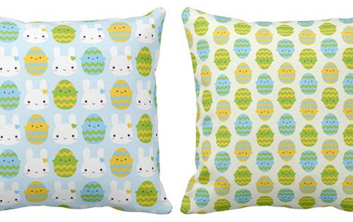 easter pillows