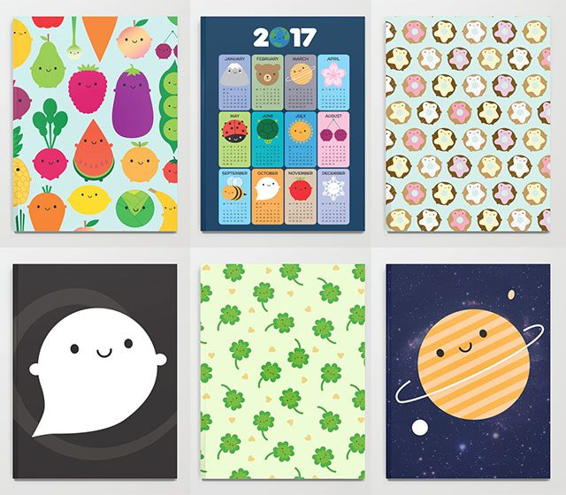 society6 notebooks