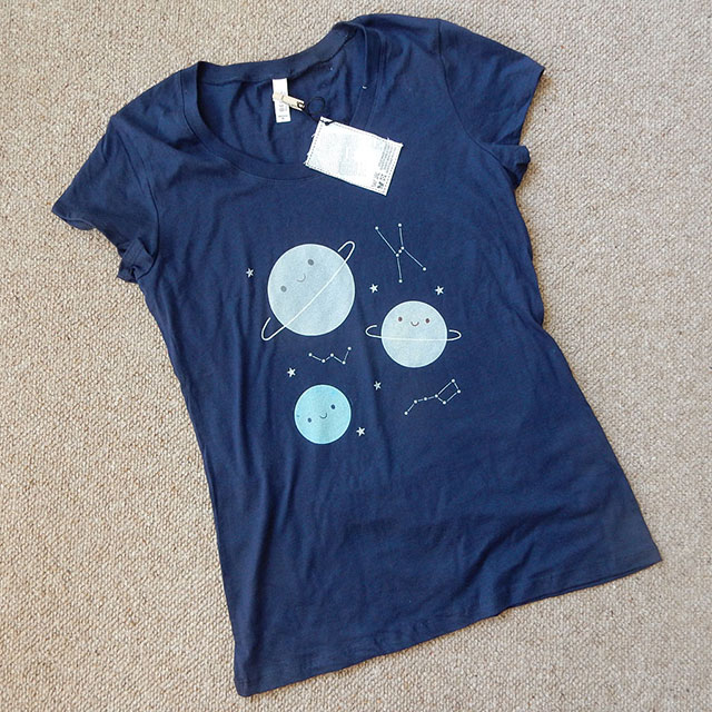 outer space t-shirt - marcelinesmith