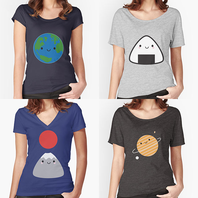 Redbubble t-shirts