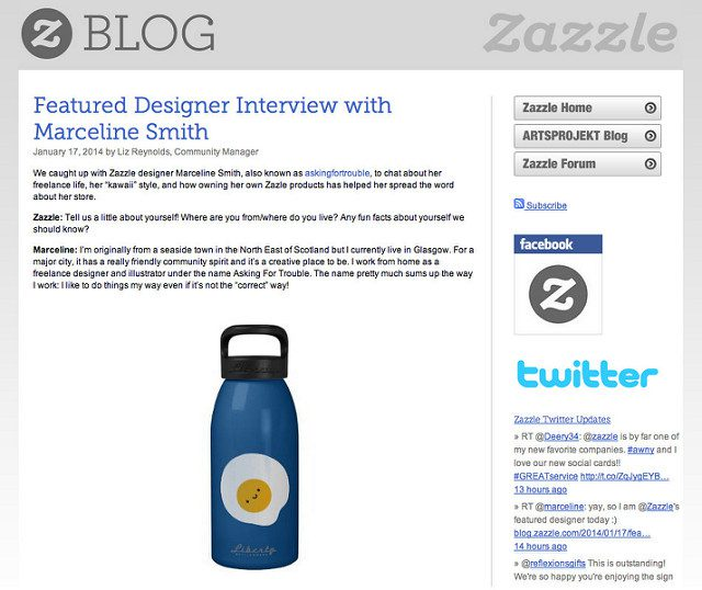 zazzle interview