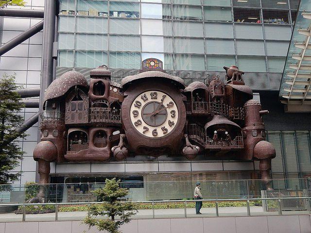 ghibli clock - marcelinesmith