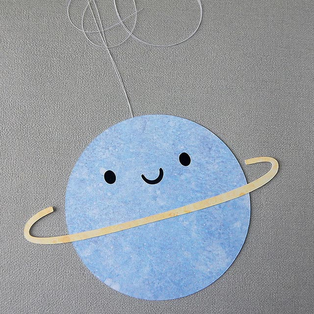 kawaii planet paper cut tutorial copyright marceline smith