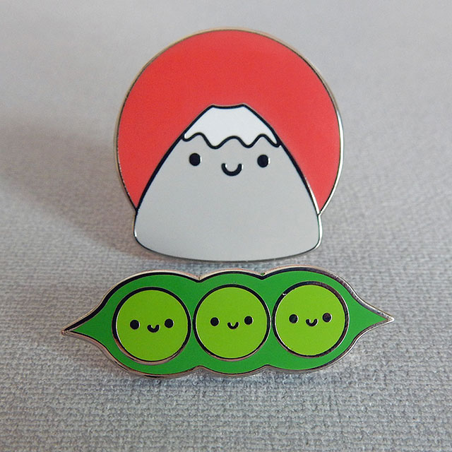 kawaii enamel pins - askingfortrouble