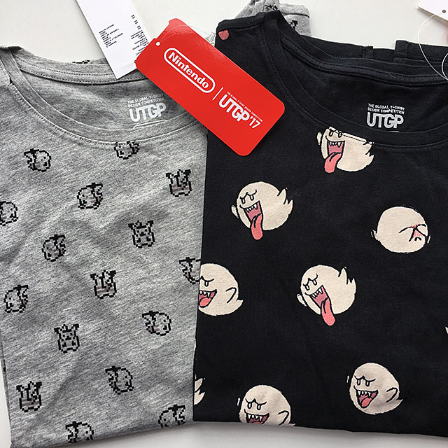 uniqlo x nintendo - marcelinesmith