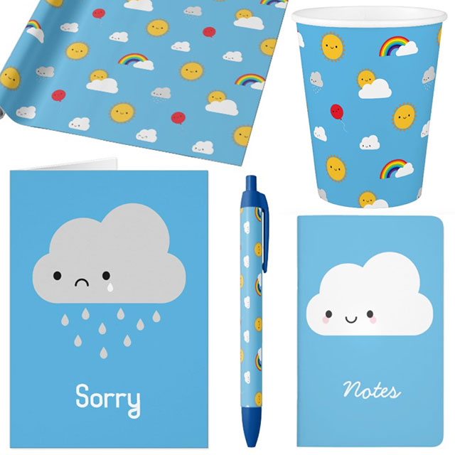 zazzle kawaii skies