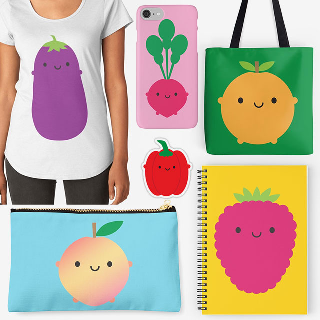 5 a day redbubble
