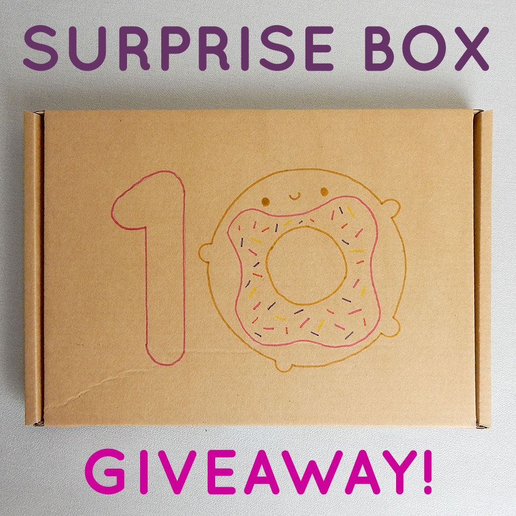 surprise box giveaway