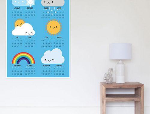 2018 calendars posters