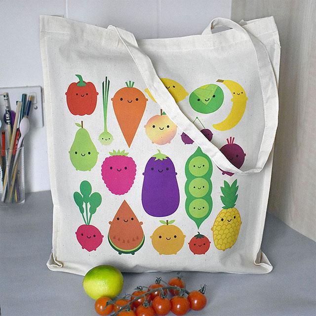 5 a day shopper bag