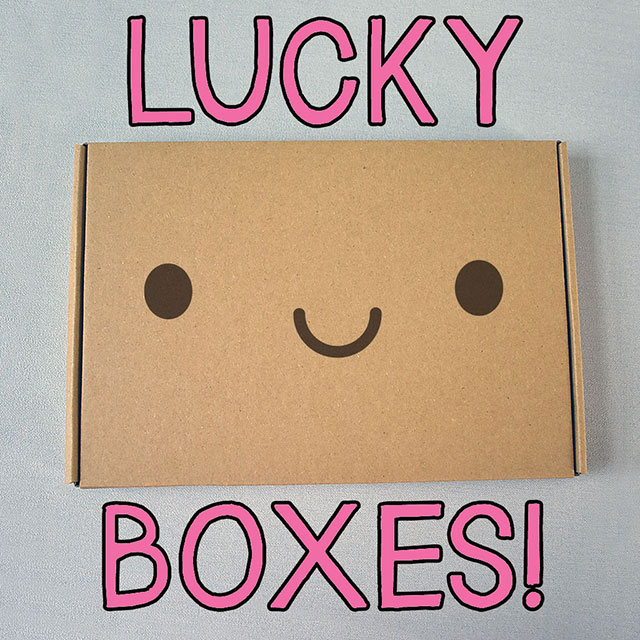 Black Friday lucky boxes