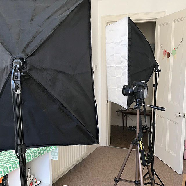 photography setup