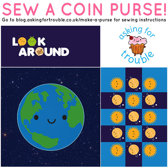 cut and sew coin purses