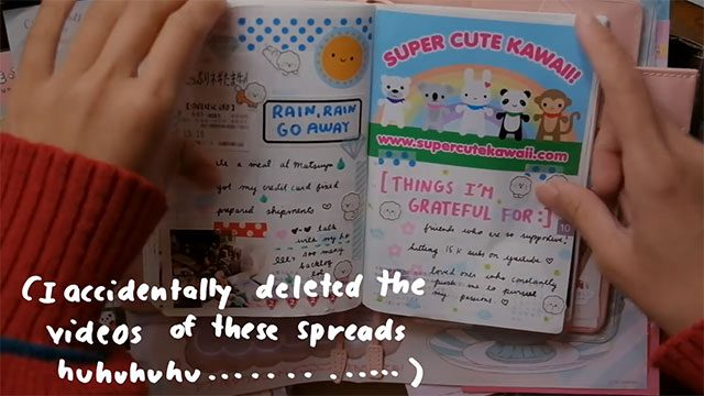 Kawaii Journalling With Rainbowholic