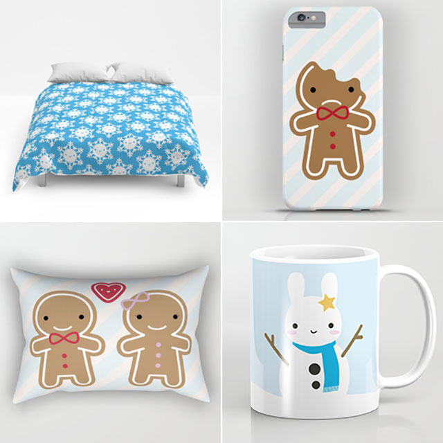 society6 christmas gifts