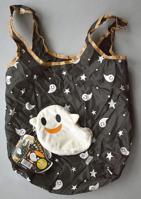 kawaii ghost shopping bag
