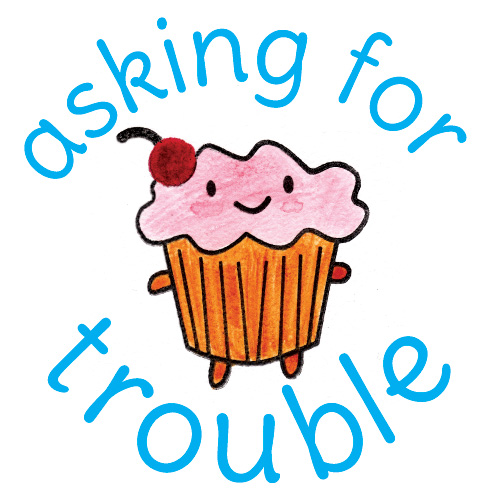 asking for trouble logo
