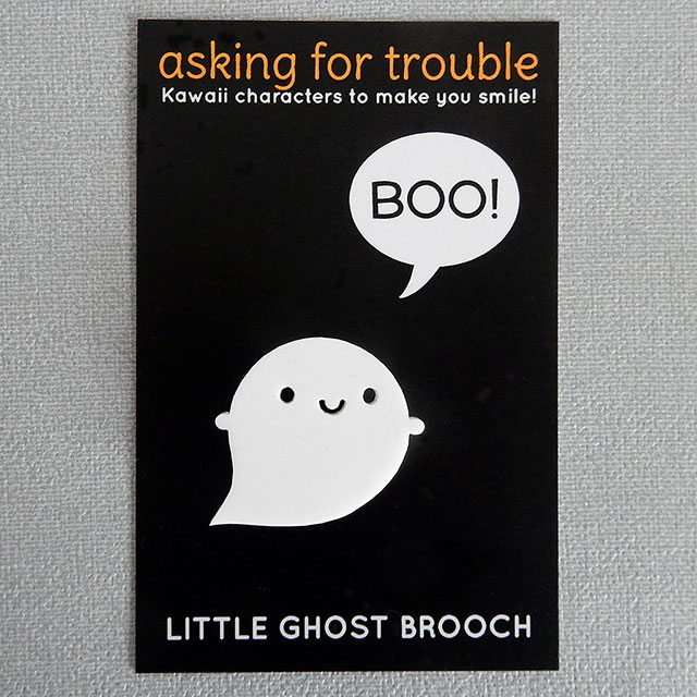 Little Ghost Brooches