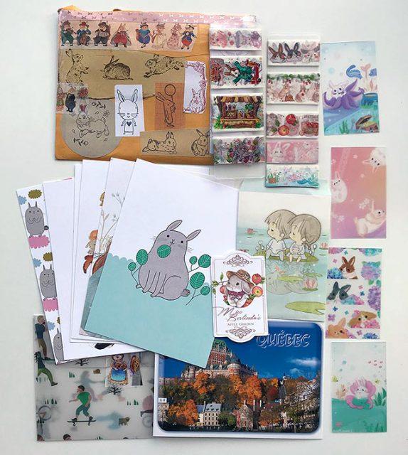 surprise mail swap