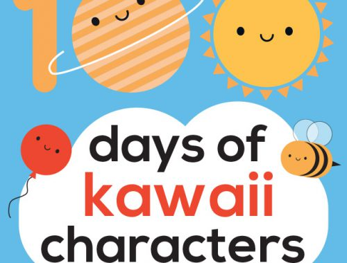 100 Days of Kawaii Characters - #The100DayProject