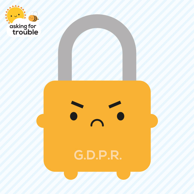 GDPR padlock - copyright Marceline Smith