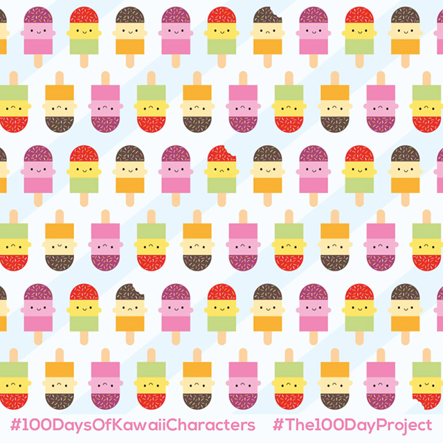 ice lollies pattern