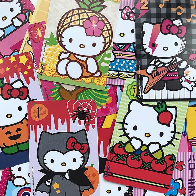 Hello Kitty kawaii playing cards