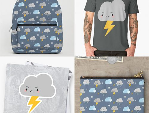Kawaii Stormy Weather pattern
