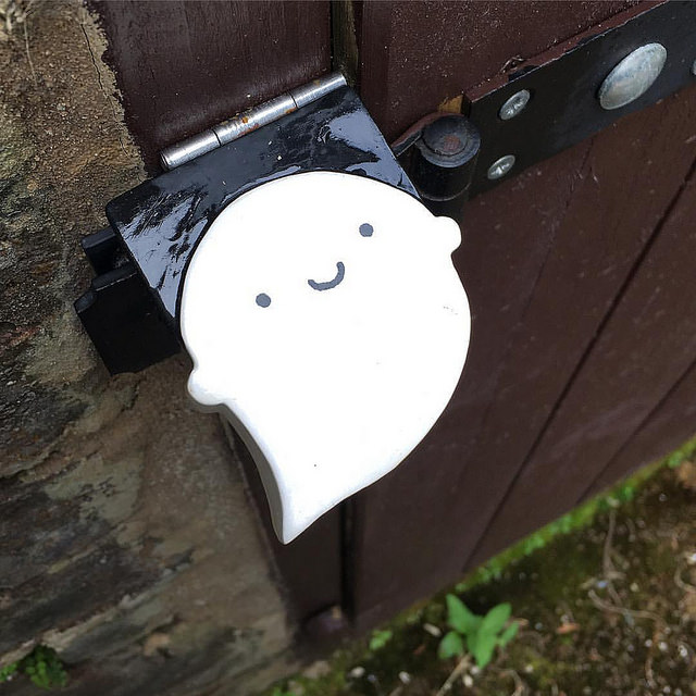 wooden ghost lock protector
