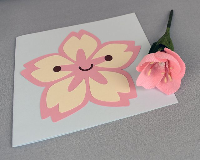 paper crafts sakura card