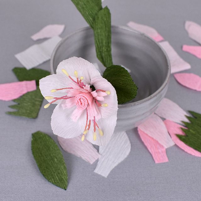 paper crafts sakura cherry blossom flower