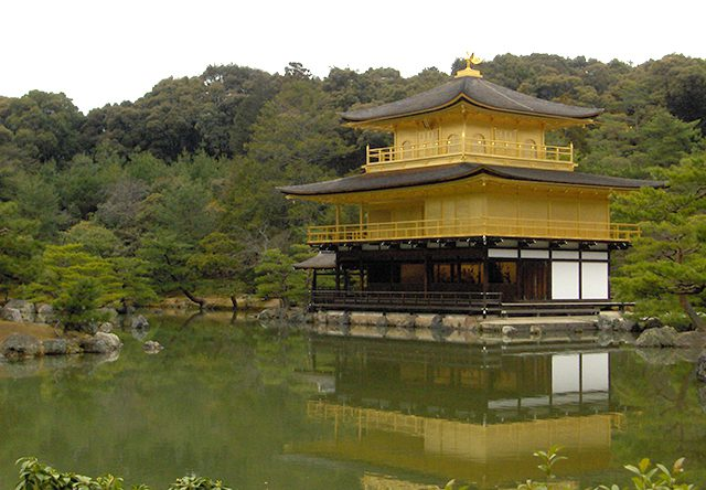 japan - kyoto kinkakuji