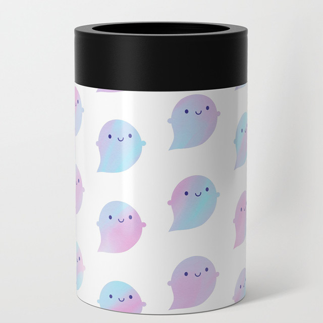 watercolour ghosts can cooler
