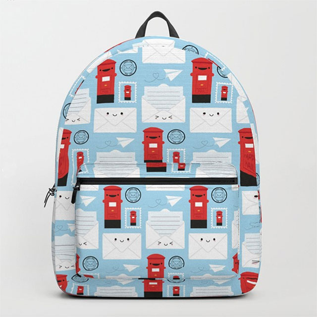 happy mail backpack