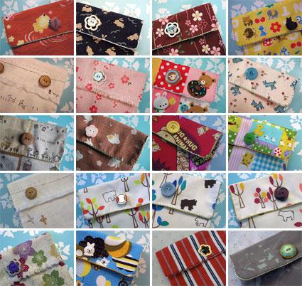 fabric purses