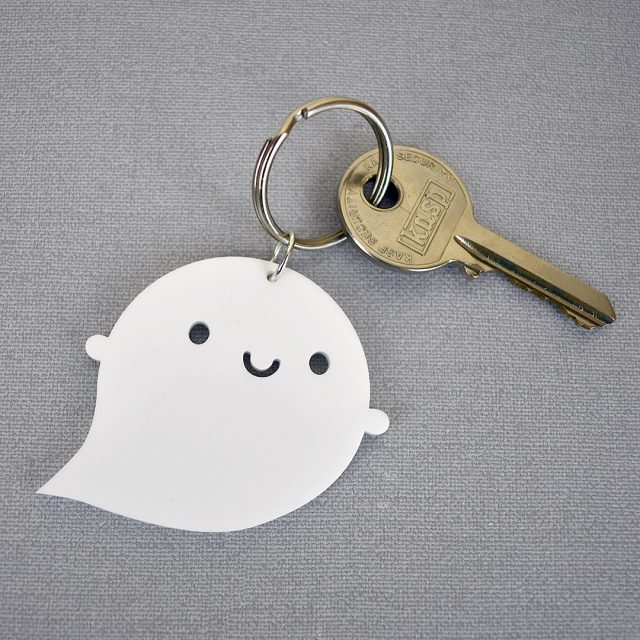 Little Ghost keyring