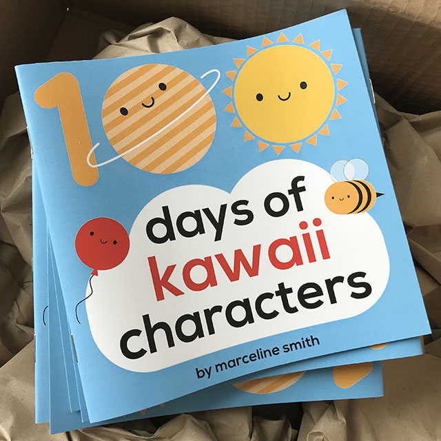 100 Days of Kawaii Characters