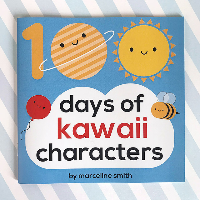 kawaii characters book