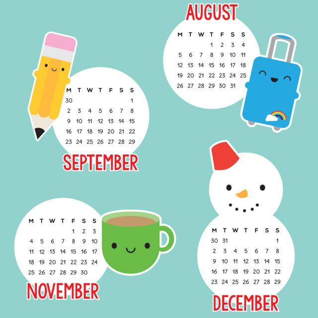 2019 Tea Towel Calendars