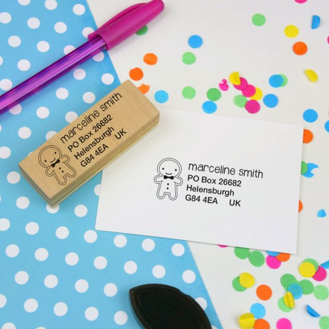 personalised custom address stamps