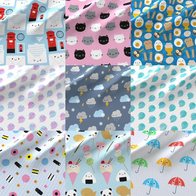 kawaii fabric spoonflower