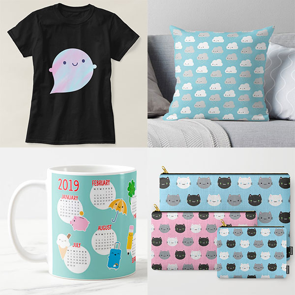 Black Friday Society6 Zazzle Redbubble