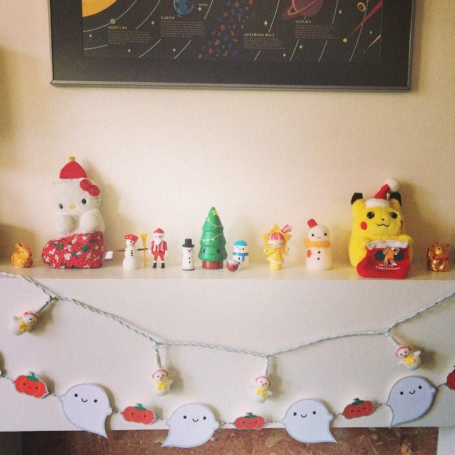 kawaii christmas decorations