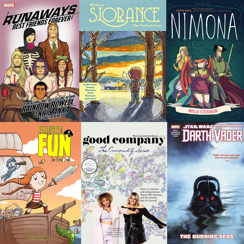 5 star comics and zines I read in 2018