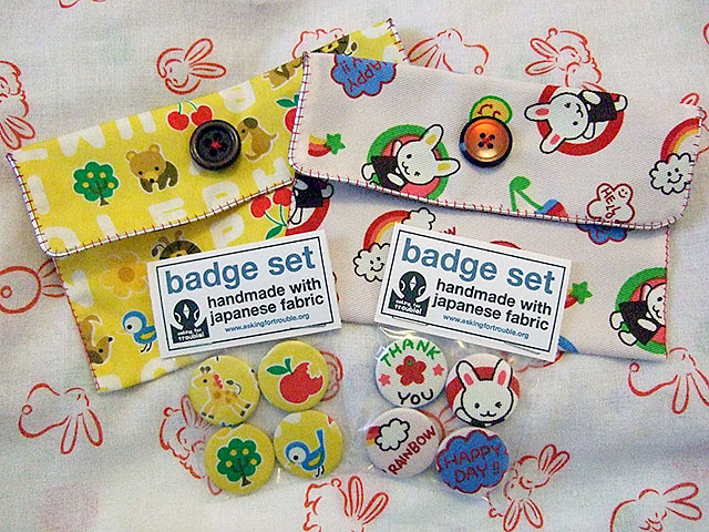 japanese kawaii fabric purses